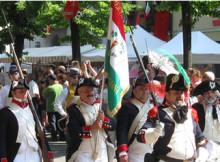 Soldati Guardia Nazionale alla Gnoccata 2011